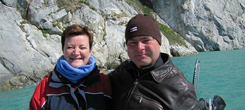 Bente Errebo Nielsen og Lars Hastrup
